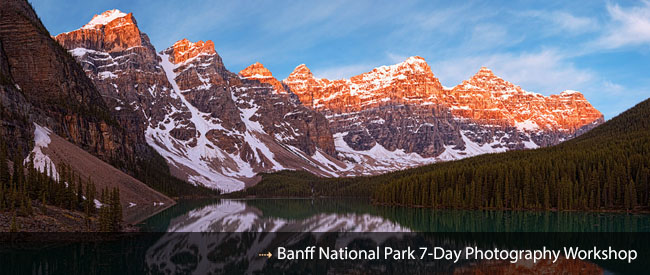Banff Canadian Rockies Photography Workshop