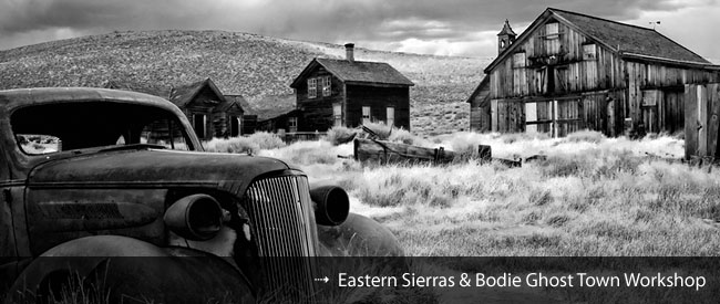 Bodie Ghost Town and Mono Lake Photography Workshop
