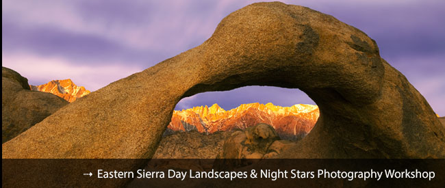 Eastern Sierra Day and Night Photography Workshop