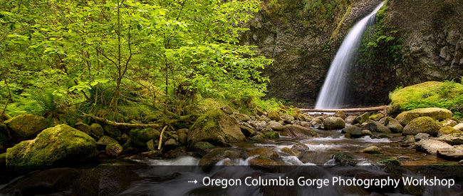 Oregon Columbia Gorge Waterfall Photography Workshop