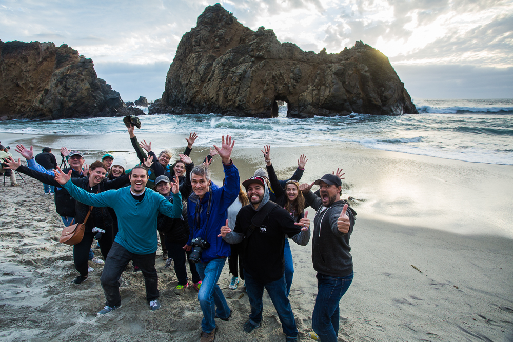 Big Sur Photography Workshop Students