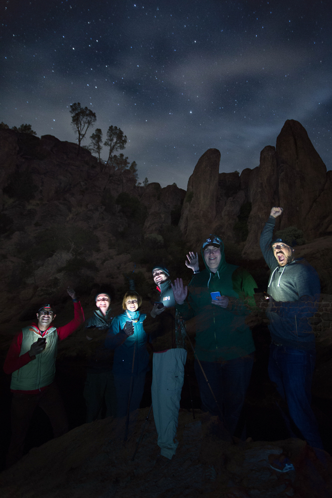 Darkside Night and Star Photography Workshop Students