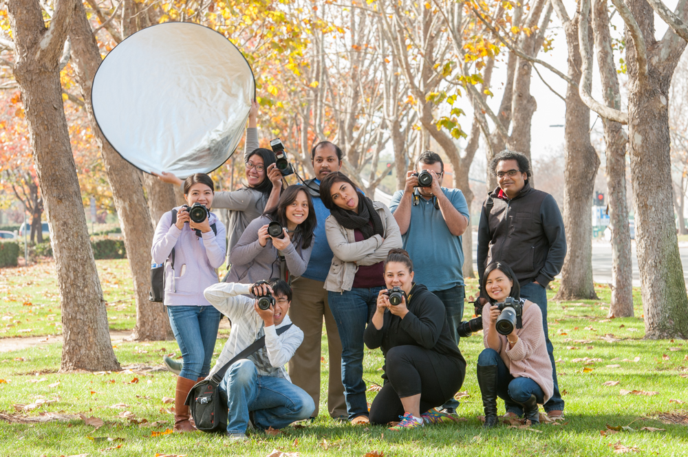 Perfect Portraits & Processing Photography Workshop Students