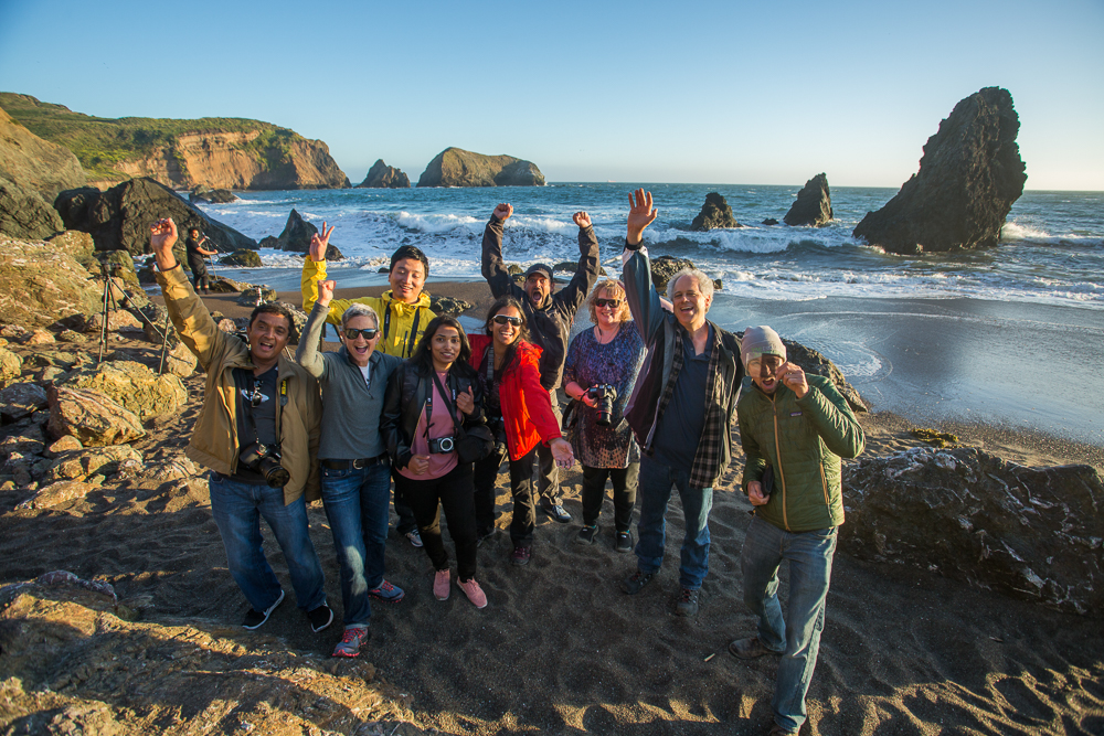 San Francisco Bay, Marin Headlands, Photography Workshop Students