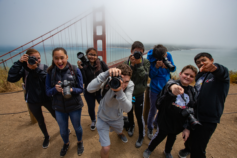 San Francisco Photography Workshop Students