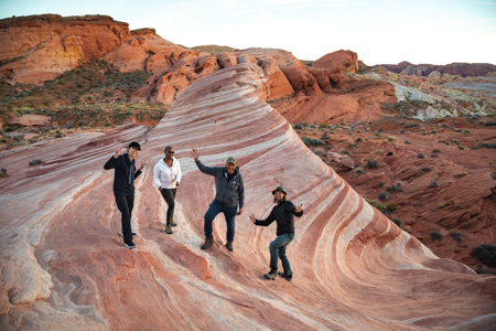 Valley of Fire Photography Workshop Students