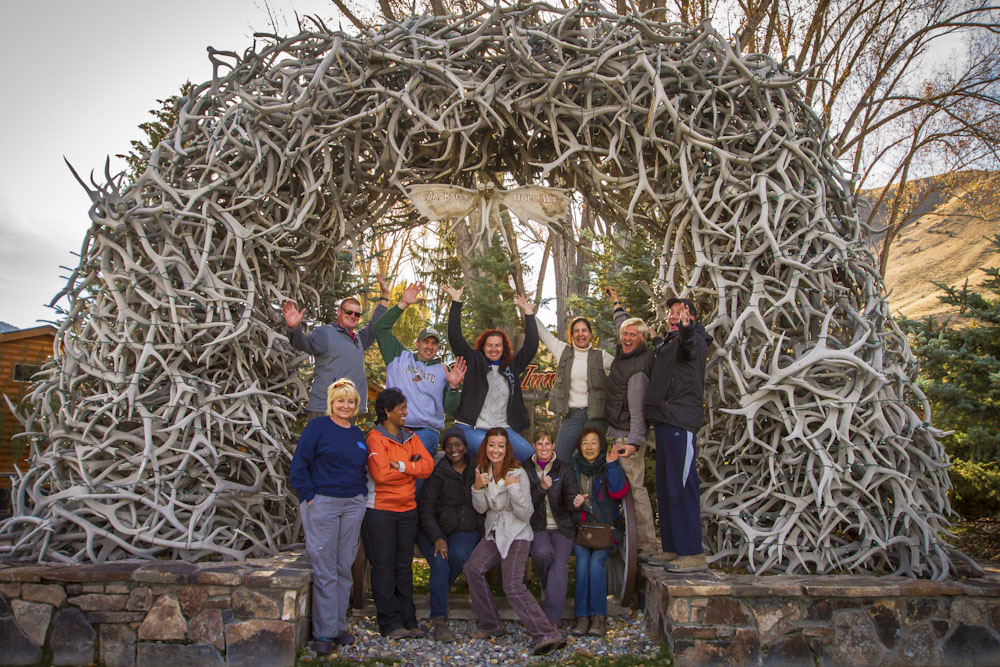 Mount grand-teton Photography Workshop Students