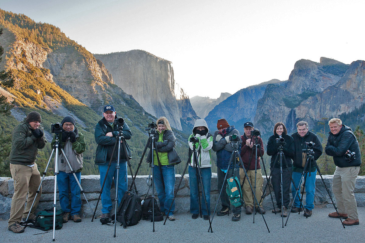 Yosemite Photography Workshop Students