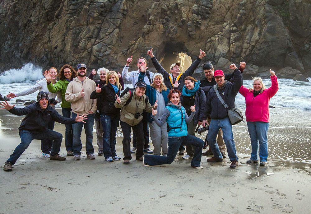 Big Sur, CA, Photography Workshop Students