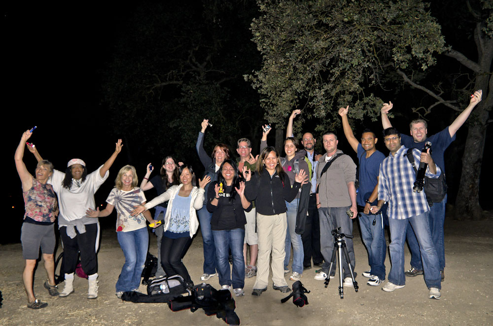 Star/Night Photography Workshop Students with Aperture Academy