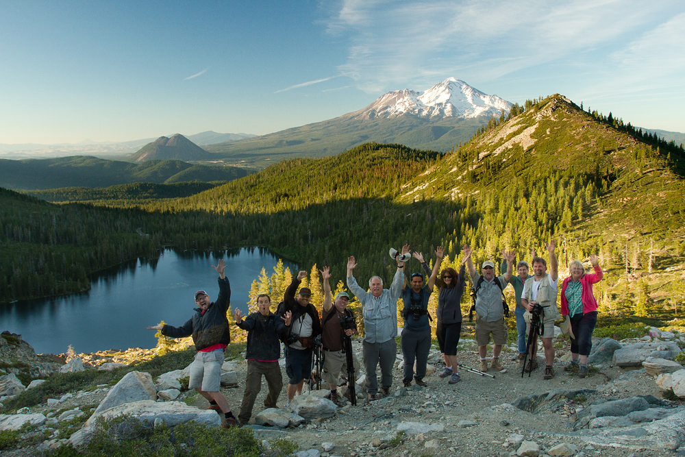 Mount Shasta Photography Workshop Students